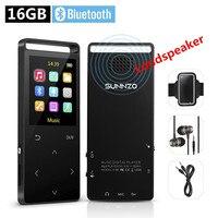 16GB MP3 Player Bluetooth HiFi Digital Music Mini Portable Audio Player W Inbuild Speaker FM Radio