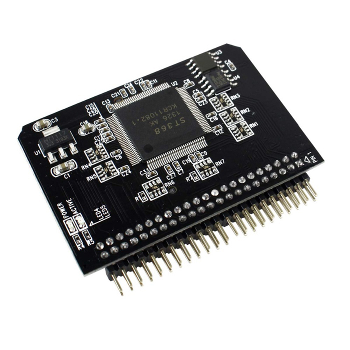 NEW SD/Micro sd Memory Card to 2.5 44pin IDE Adapter Reader SD to ide For Laptop free shipping