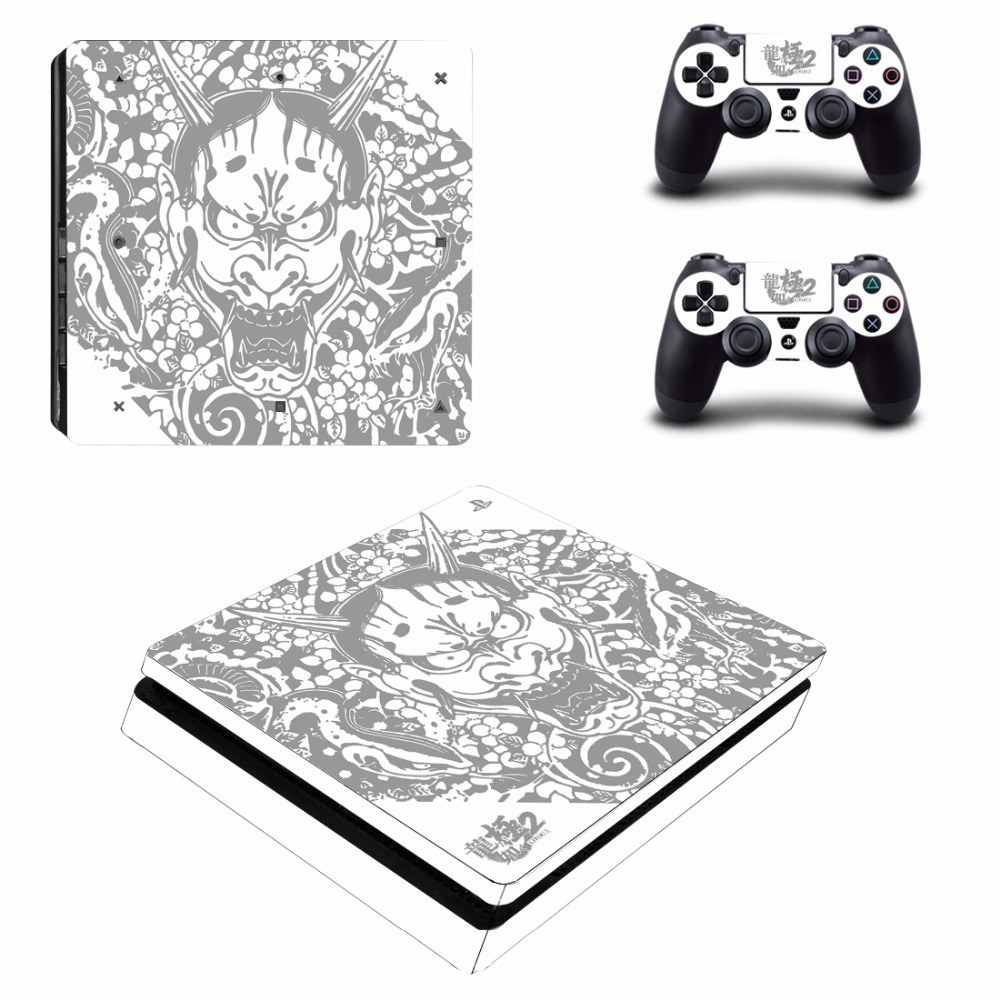 Yakuza Kiwami 2 PS4 Slim Skin Sticker For Sony PlayStation