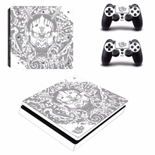 Yakuza Kiwami 2 PS4 Slim Skin Sticker For Sony PlayStation 4 Console and 2 Controllers PS4 Slim Skins Sticker Decal Vinyl protective vinyl skin decal cover for ps vita psvita playstation vita portable sticker skins diamond plate