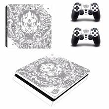 Yakuza Kiwami 2 PS4 Slim skóry naklejki dla Sony PlayStation 4 konsola i 2 kontrolery PS4 Slim skórki naklejka naklejka winylu tanie tanio Yolouxiku YSP4S-0798 PlayStation4 For Sony PlayStation 4 Slim Zapraszamy Yakuza Kiwami 2 PS4 Slim Skin Sticker