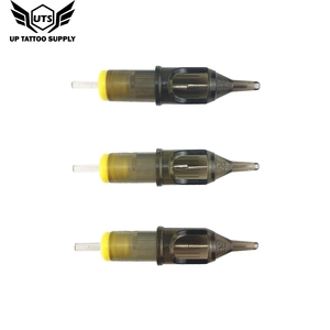 Image 2 - 10 قطعة الوشم الإبر خرطوشة المتاح تجميل دائم إبرة ماكينة رسم الوشم التجميلي بندقية لوازم 3RS/5RS/7RS/9RS/11RS/14RS