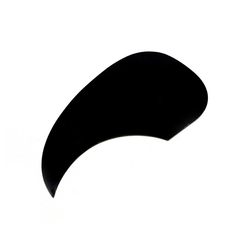 Celluloid Pickguard Scratch Plate Pick Guard For Acoustic Guitar Black Guitar Parts