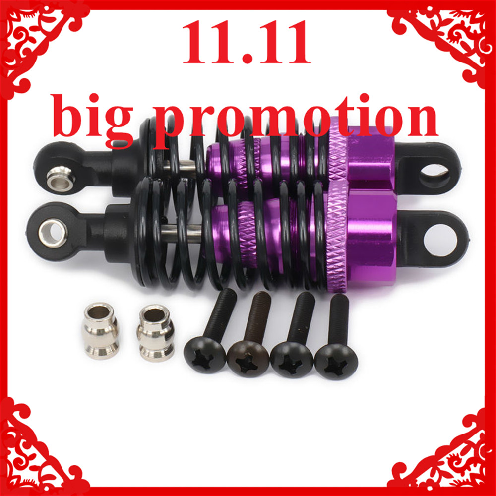 Oil Adjustable 68mm Alloy Aluminum Shock Absorber Damper For Rc Car 1/10 On-Road Drift Car Hpi Hsp Traxxas Losi Axial Tamiya 8 replacement spare parts blender juicer parts 4 rubber gear 4 plastic gear base for magic bullet 250w 38