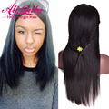 Straight Indian Hair Lace Front Wigs Glueless Lace Front Human Hair Wigs Best Lace Front Wigs 7A Indian Remy Lace Front Wigs