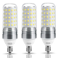 ФОТО led bulb candelabra light corn bulb 100w equivalent e12 base(12w),5000k/2700k warm white,1100lm for ceiling fans light,(3 pack)