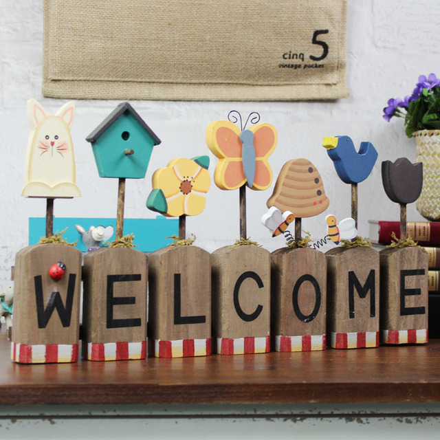 American Village Welcome Sign Welcome Home Decoration
