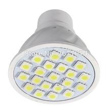 LED Bulb Lamps Ceiling Lights Vintage Lamps High Brightness Lampada LED Bombillas plastic shell GU10 21SMD 5050 1PCS JTFL118-1