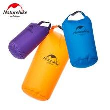 Naturehike Outdoor Men's Travel Storage Bags 40D Nylon Ultralight Waterproof Compression Dry Bag Swimming Rafting Bags 5L 10L