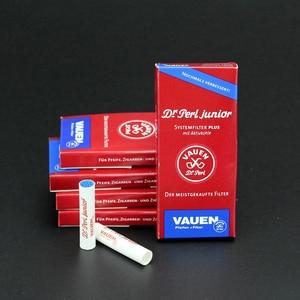 Image 1 - Filtros de fumo 9mm 50 peças, tubulação de fumo filtros de carbono ativado melhores acessórios descartáveis filtro de tabaco fumaça