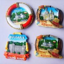 BULGARIA Bulgaria BALCHIK путешествие в честь холодильника наклейки креативные магнитные наклейки