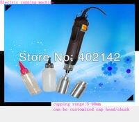 Frete Grátis  100% de Garantia Portátil garrafa máquina tampando elétrica  Cap screwing Máquina  máquina de tampa de vedação elétrica RG-I