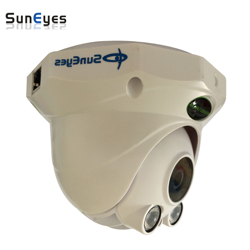 SunEyes  SP-P1802S Full HD Dome IP Camera HD 1080P 2.0MP  with TF/Micro SD Card Slot Two Way Audio Array IR 50M Low Lux ONVIF suneyes sp p1801sw wireless outdoor 1080p full hd ip camera w micro sd slot p2p two way audio