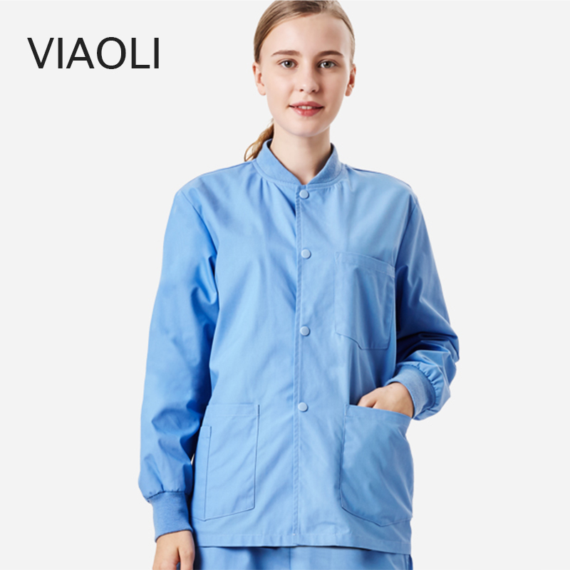 new Surgical Gowns Surgical Gowns Operating Room Surgical Gowns Doctors Nurses Workwear Beauty Salon Uniforms coat ai lianxin new women doctors and nurses surgical caps hat cotton cap and short hair with sweatbands alx 114