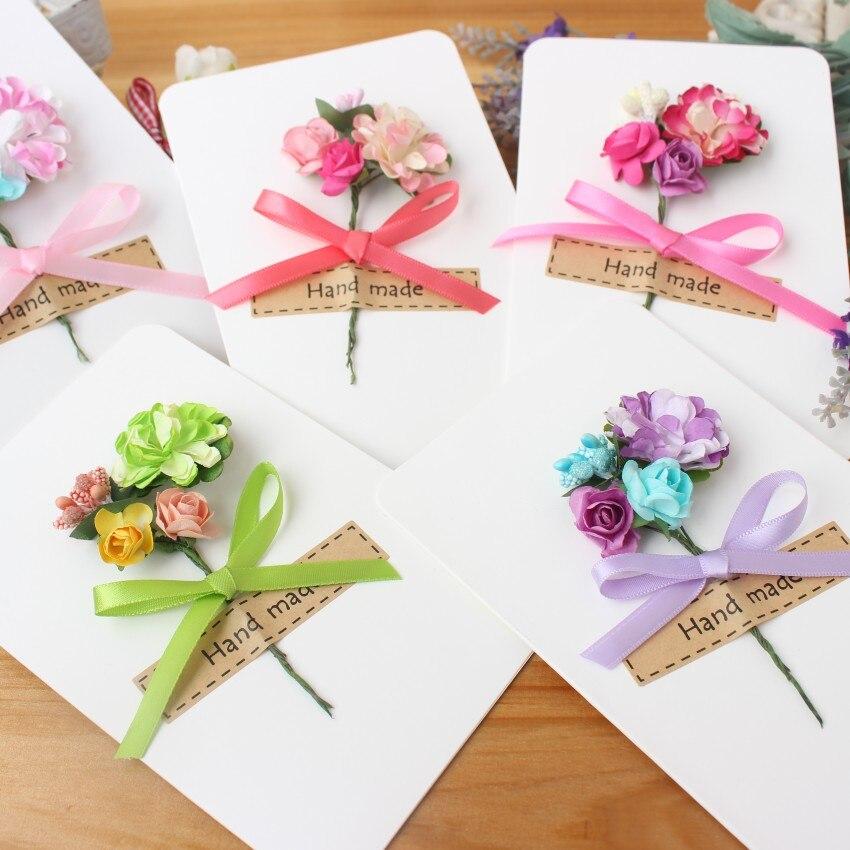 Pet Cards Korean Cards Handmade Flowers Teachers\' Day Birthday DIY ...