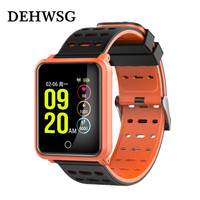For IOS Android Xiaomi Smart Watch Blood Pressure Monitoring Pk Huami Fitbits Smartwatch Bluetooth 4 2