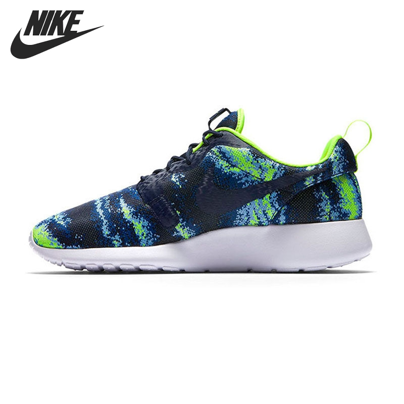 Original New Arrival  NIKE ROSHE ONE KJCRD  Mens Prited Running Shoes Sneakers