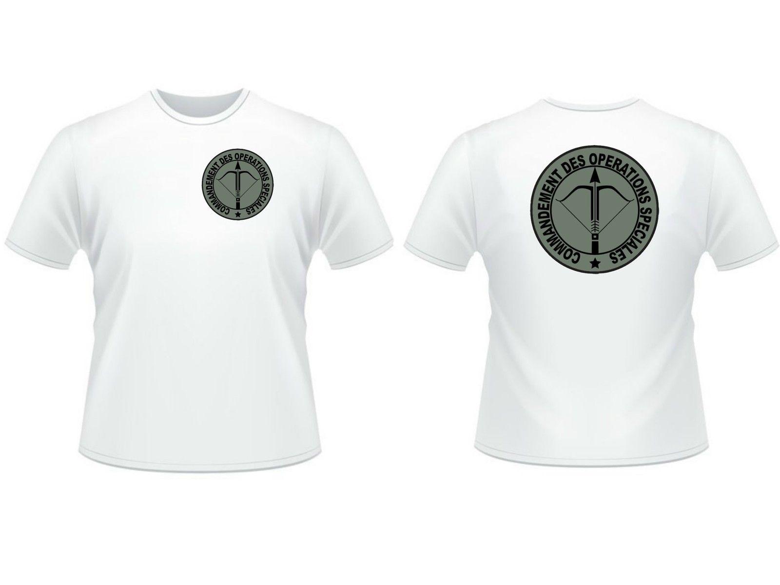 2018 Men Cool Tee Shirt T-SHIRT  COS  recto / verso - Commandement des operations speciales RPIMa GCP Summer T-shirt