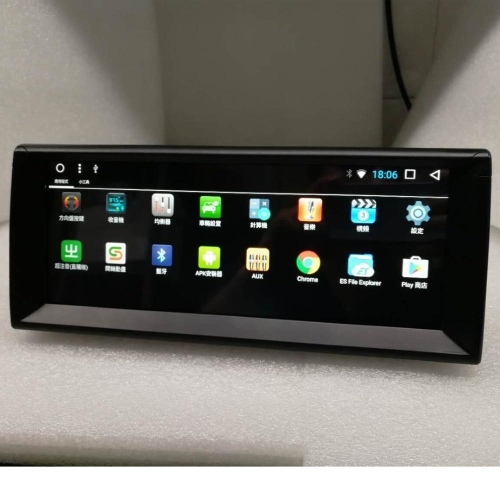 Date Android 8.1 Octa Core 2g RAM 32g ROM GPS Navi 10.25 Pouces Voiture DVD Multimédia pour BMW E39 5 Série 1996-2003 avec Radio