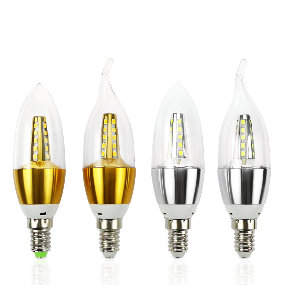 Bombillas Led Decorativas Us 09 15 Off 1 10x E14 Led Candle Light Bulb 220v Energy Saving Bulb Lamp Led Bombilla Decorativas Ampoule Led Lamp 7w 9w Led Lights For Home In