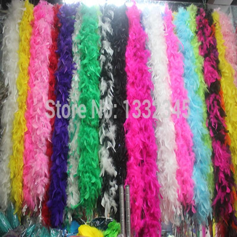 2 Шт./лот! многоцветный chandelle боа из перьев танец, костюмы, ремесла, украшения, партии, bacheloratte13 цветов на выбор