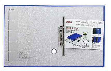 A4 картонная папка канцелярские принадлежности файл дней сбора данных мощный сшиватель 2-отверстие зажим+ с дисковым зажимом многофункциональная Двойная сила - Цвет: Светло-зеленый