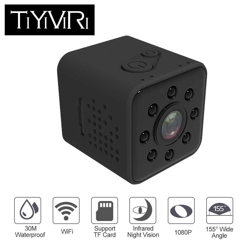 TiYiViRi SQ23 Mini Camera Wifi 1080P Sport Cam Full HD 1080P Micro Camera Wifi Waterproof Night Vision Mini Camcorders Pk SQ13