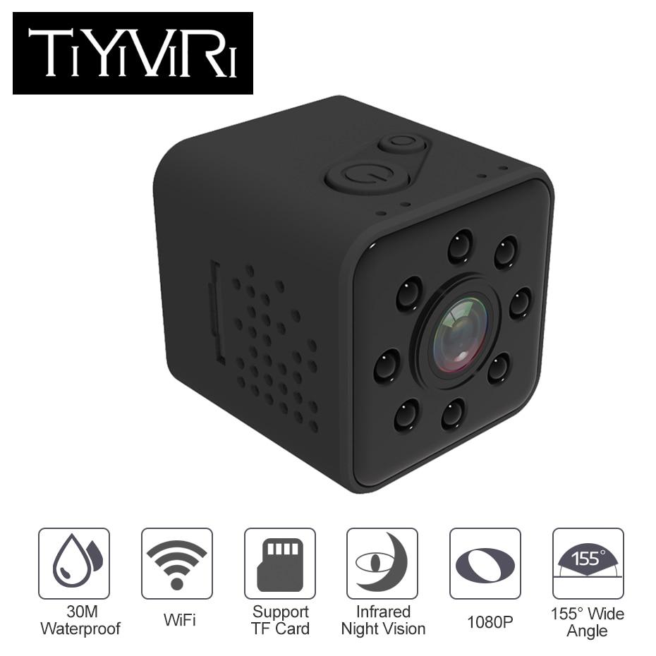 TiYiViRi SQ23 Mini Kamera Wifi 1080 p Sport Cam Full HD 1080 p Micro Kamera Wifi Wasserdichte Nachtsicht Mini camcorder Pk SQ13