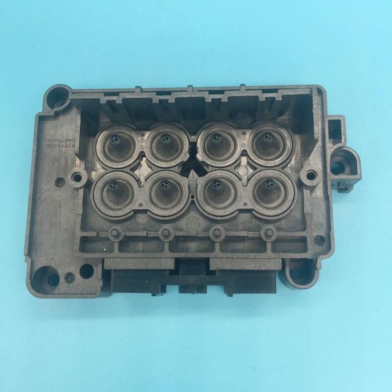 Eco solvant imprimante avec couleur xénon DX7 tête d'impression couverture pour Epson F189010 189000 196000 196010 DX7 collecteur solvant adaptateur