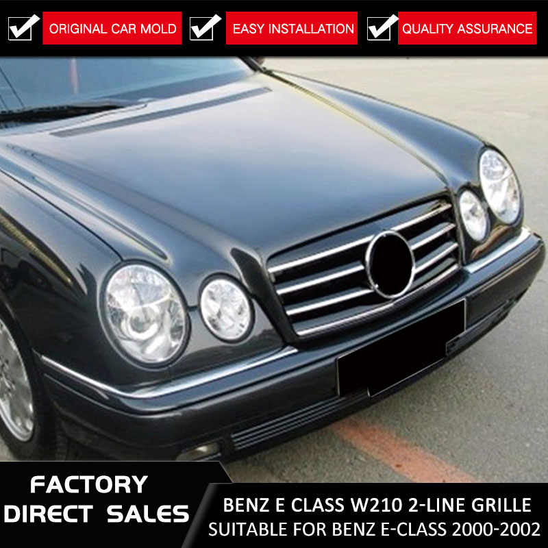 Plastic Black With Chrome Front Grille Auto Grille For