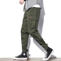 YASUGUOJI new 2019 mens sweatpants joggers army green hip pop track pants men hirigin men boys joggers cargo pants trousers men