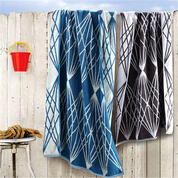 Swimming bath towel female pure cotton adult summer men's beach towel enlarged