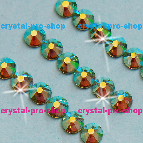 ss5 GENUINE Swarovski Elements AB Peridot ( 214 AB ) 720 pcs 5ss ( NO  hotfix Rhinestone ) Crystal 2058 FLATBACK -in Stones from Home   Garden on  ... f9d556634151