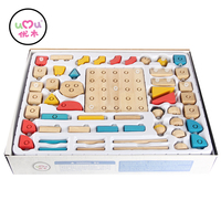 [Umu] Soft Buckle Magic Building Blocks Kits Exported To South Korea Assembled Fight Puzzle Baby Puzzle For Children Toys