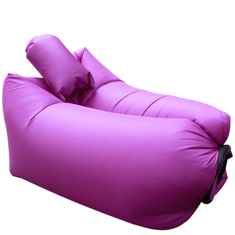 ФОТО Ebuy360 Inflatable Air Sofa Over 200KG 210T Polyester Sleeping Laybag Pillow travesseiro Bed Lazy Bag Air Chair Inflable Lounge