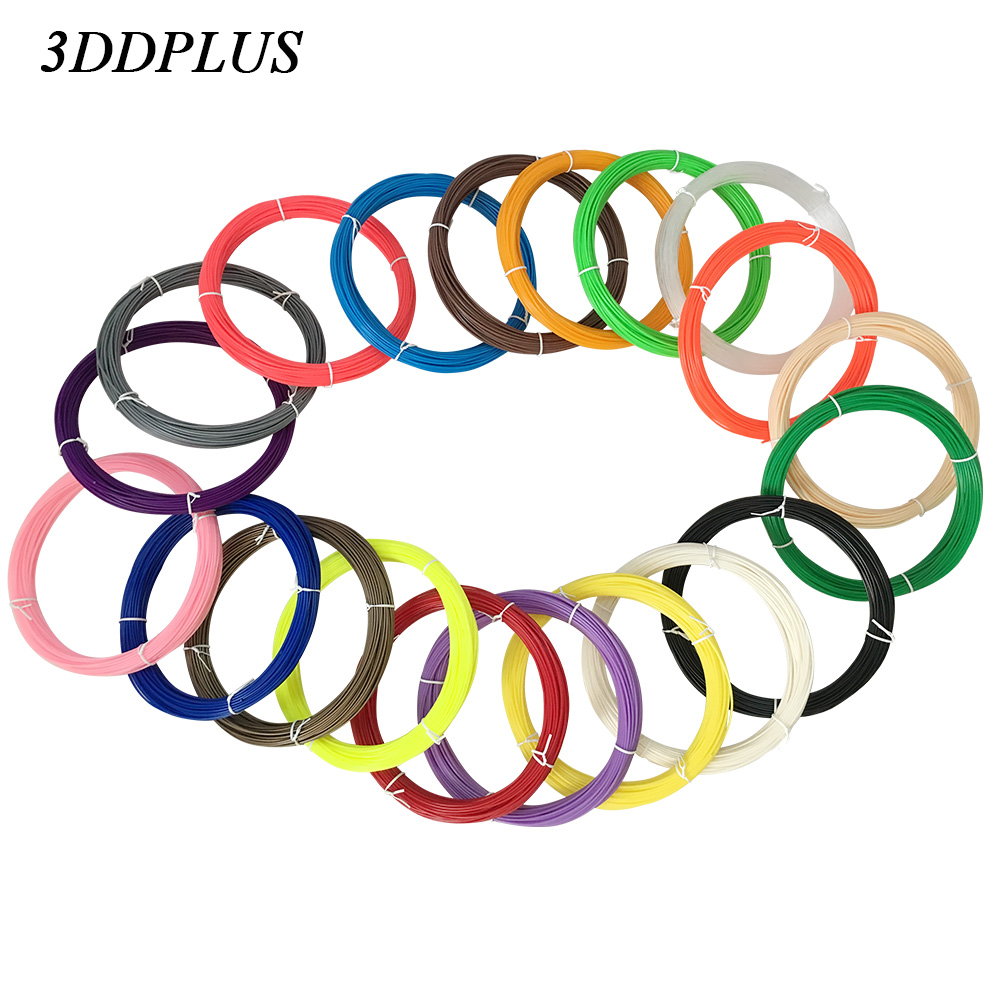 3D Pen Filament thread 1.75mm ABS/PLA 20 Different Colors for 3D printing pens wire rod 3D linear 1china free shipping 20pcs abs 3d printing materials filament 1 75mm 20 different colors for 3d printer or 3d pens gift for kids