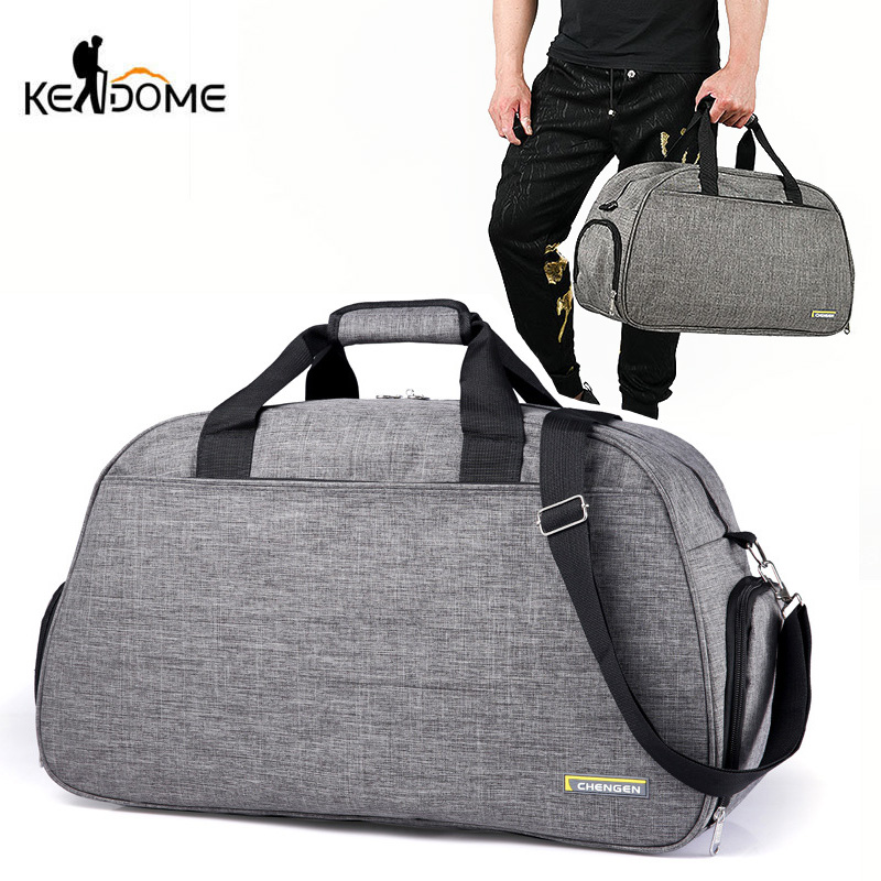 Traveling Luggage Bags Gym Fitness Bag Outdoor Sports Duffle for Women Men Sac De Sport Handbag Tas Tavel Shoulder Gymtas XA9WD