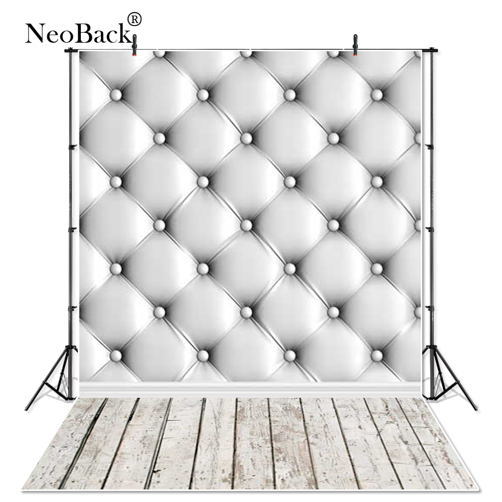NeoBack Thin Vinyl Ombre Tufted Wood Floor Photography Backdrops Studio Portrait Photo Props Photographic Background cloth P0968 black and white grids floor photography background hollow vinyl photo backdrops for photo studio funds props cm 4785
