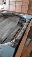 Szanghaj Chiny fabryka produkcji kute Żelazne drzwi wysokiej jakości eksport do USA, model hench-ad10