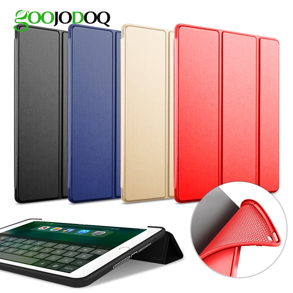 Case For iPad Air 2 / Air 1 Silicone Magnetic Case for iPad Air Smart Cover Soft TPU Case PU Leather Flip Stand Auto Sleep/Wake new luxury ultra slim silk tpu smart case for ipad pro 9 7 soft silicone case pu leather cover stand for ipad air 3 ipad 7 a71