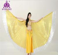 2015 New Arrivals Cheap Egyptian Women Belly Dance Costume Isis Wings In Belly Dancing On Sale