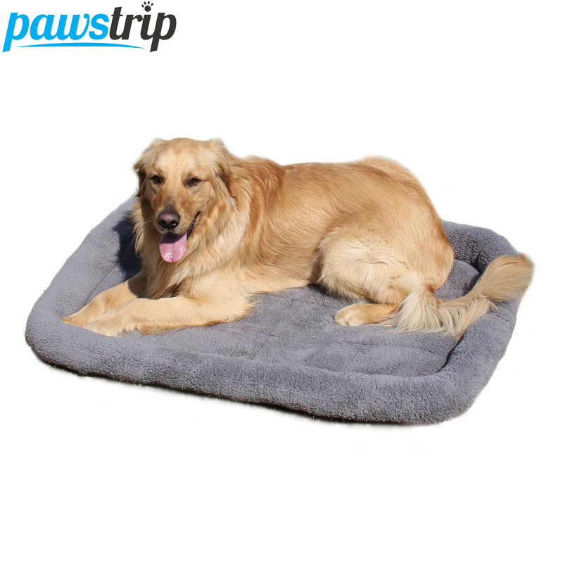 5 Dimensioni Pet Large Dog Bed Morbido pile caldo Cat Beds Multifunzione Cucciolo Cuscino Cane Gabbia Mat Dog Car Seat Mat Cama Para Cachorro