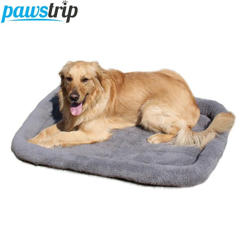 5 Tamanho Pet Grande Cama Do Cão de Lã Macia Quente Camas de Gato Multifuncional Almofada Mat Cama de Para Cachorro Filhote de Cachorro