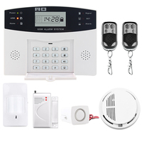 Saful Wireless PIR Home Security GSM Burglar Alarm Systems SMS Call Top Quality Russian English Spanish