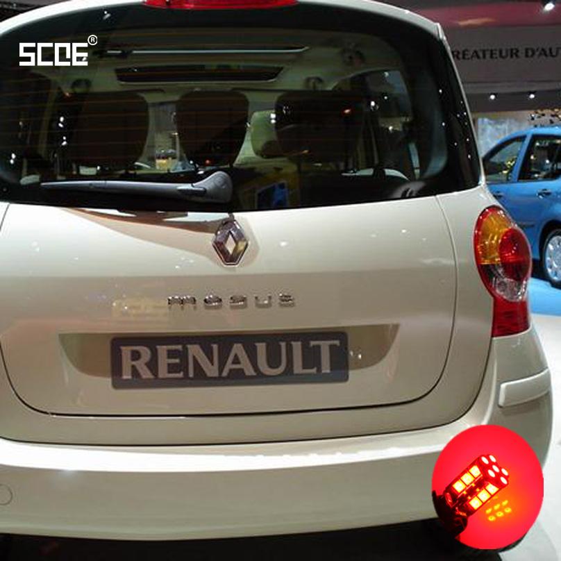 For <font><b>Renault</b></font> <font><b>Modus</b></font> SCOE 2015 New High Quality 2X 30SMD <font><b>LED</b></font> Brake /Stop /Parking Rear /Tail Bulb /Light Source Car Styling image