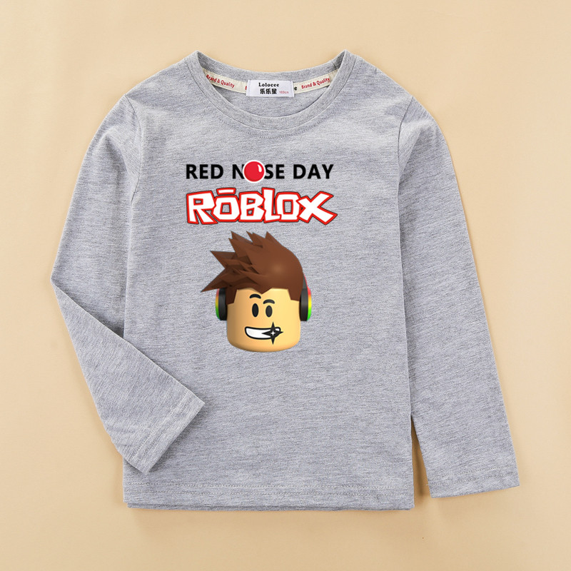 Kids autumn winter cotton clothes roblox boys tshirt fashion new long short sleeves tops boy new roblox t shirt printed shirt classic plaid pattern shirt collar long sleeves slimming colorful shirt for men