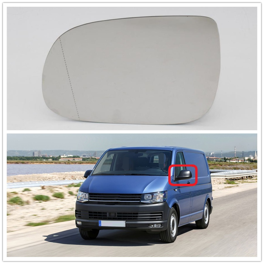 Left Side For VW Transporter Multivan T5 T6 2010 2011 2012 2013 2014 2015 2016 2017 2018 Car-Styling Heated Rear Mirror Glass