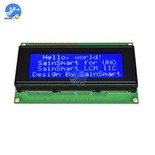 2004 ЖК-дисплей Экран модуль Синий Подсветка 5V HD44780 ЖК-дисплей плата контроллера межсоединений интегральных схем/I2C ЖК-дисплей Экран дисплея монитора для Arduino