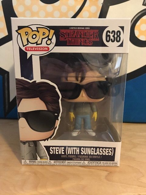 7d990e1ee6 Funko pop Official TV  Stranger Things - Steve with Sunglasses Vinyl Action  Figure Collectible Model Toy with Original Box