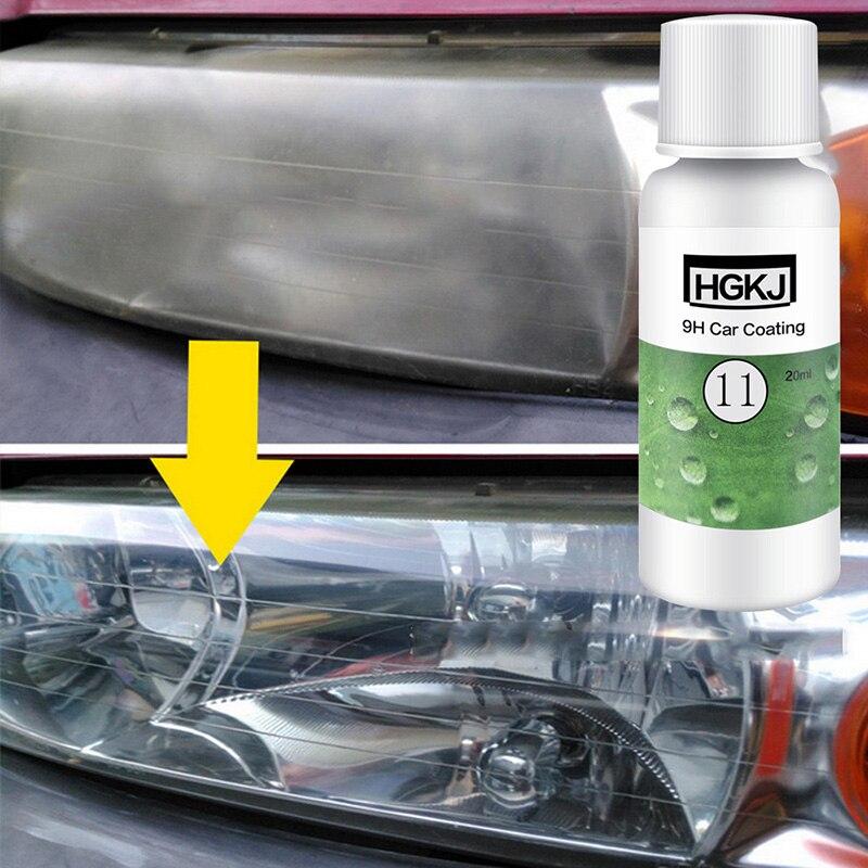 HGKJ-11-20ml  Hydrophobic Coating Repair Liquid Car Window Polish Care Scratch Repair Agent Auto Glass Polishing Wax Cleaner